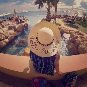 NWT Hello Sunshine Sun Hat